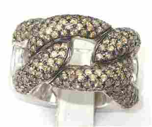Pianegonda Silver Citrine Ring