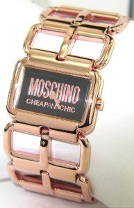 1: Moschino Stainless Steel Watch