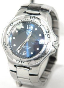 4: Tag Heuer Stainless Steel Professional Watch