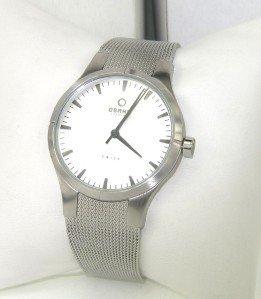 10: Obaku Stainless Steel Watch