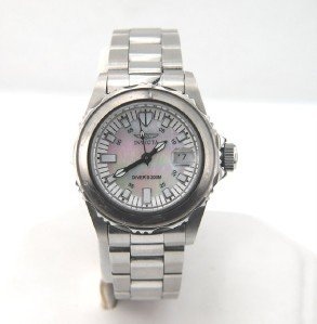 11A: Invicta Stainless Steel DateJust Watch