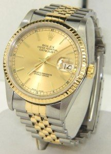 11B: Rolex Two-Tone Stainless Steel Date Just Watch