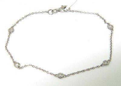 18: Barbero & Ricci 18K White Gold, Diamond Bracelet