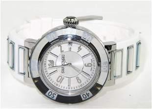 Swarovski Stainless Steel DateJust Watch