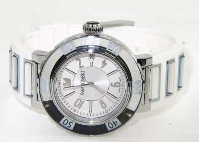 10: Swarovski Stainless Steel DateJust Watch