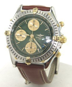 5A: Breitling Stainless Steel Chronograph  Mens watch