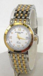 2: Raymond Weil 2-Toned Stainless Steel Diamond Watch