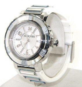 3: Swarovski Stainless Steel DateJust Watch