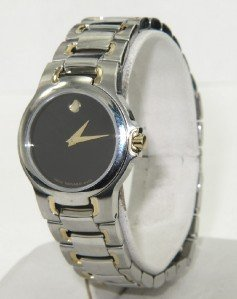 4: Movado 2-Tone Stainless Steel Watch
