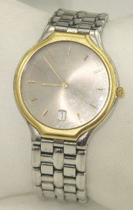 14: Omega 2-Toned Stainless Steel DateJust Watch