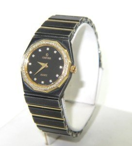 15: Concord Stainless Steel Diamond Watch