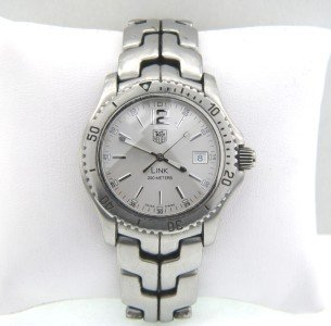 16: Tag Heuer Stainless Steel Professional DateJust Wat