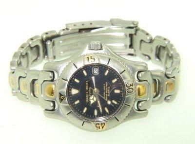 18: Charles Hubert Stainless Steel Watch