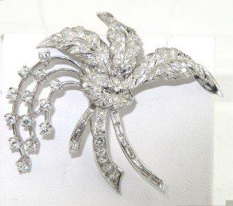 48: Platinum Diamond Pin