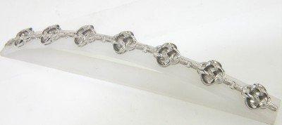 10: Silver Diamond Bracelet