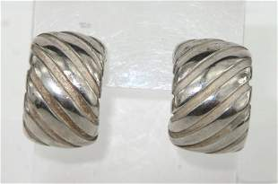 Tiffany & Co Silver Earrings