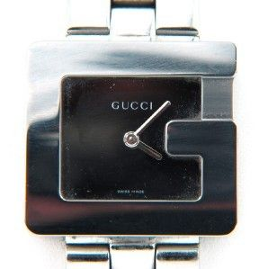 155: Gucci Stainless Steel Watch