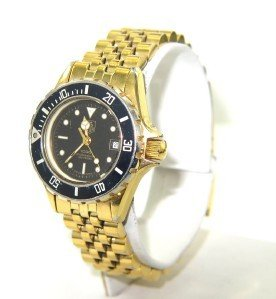 4A: Tag Heuer Stainless Steel Date Just Professional Wa