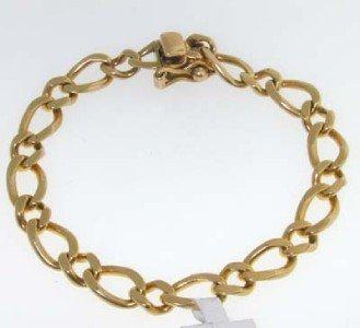 8A: Tiffany & Co 14k Yellow Gold Bracelet