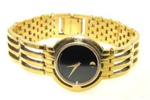 Movado Stainless Steel Quartz Watch