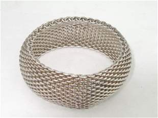 Tiffany & Co. Silver Bangle