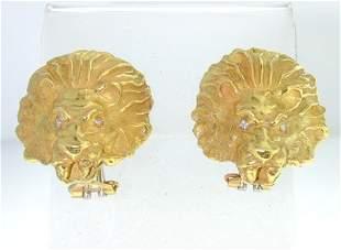 Lalaounis 18K Yellow Gold Earrings