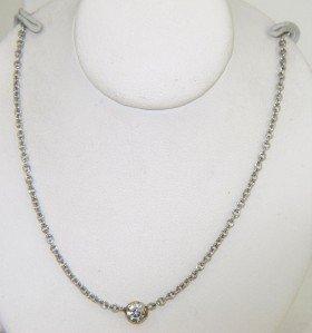 Tiffany & Co Platinum Diamond Necklace