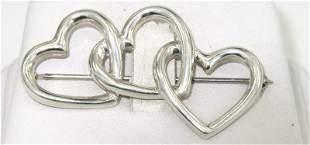 9: Tiffany & Co Silver Pin