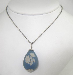 Wedgewood Silver Necklace