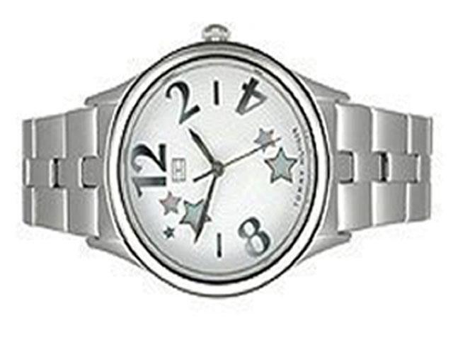 15A: Tommy Hilfiger Bracelet White Star Dial Women's Wa