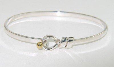 10: Tiffany & Co Silver / 18K Yellow Gold Bangle