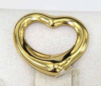 12: Tiffany & Co Peretti 18K Yellow Gold Pendant