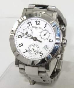 Raymond Weil Stainless Steel DateJust Watch