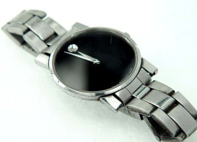 19: Movado Stainless Steel  Watch