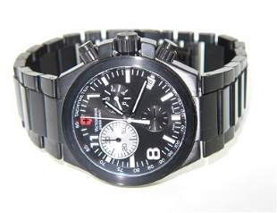 Swiss Army Stainless Steel DateJust Chronograph Watc