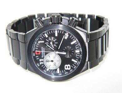 4: Swiss Army Stainless Steel DateJust Chronograph Watc