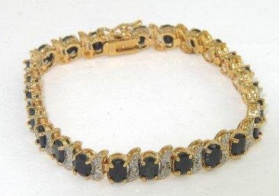 9: Silver Onyx Bracelet