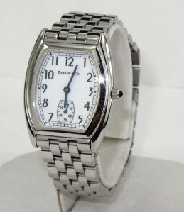 22: Tiffany & Co Stainless Steel Watch