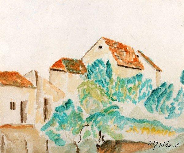 1: Abraham Melnikoff, Israeli Art