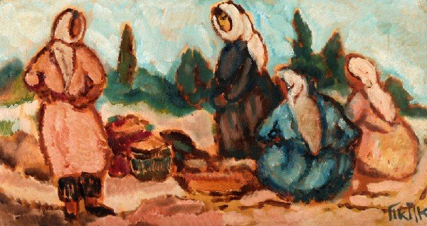 7: Arieh Allweil, Israeli Art