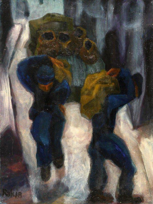 10: David Rakia, Israeli Art
