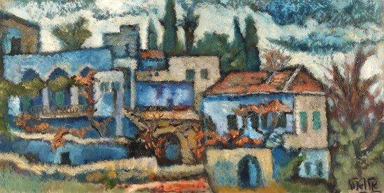 15: Arieh Allweil, Israeli Art