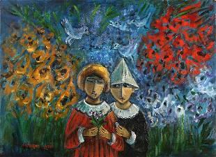 36: Yosl Bergner, Israeli Art