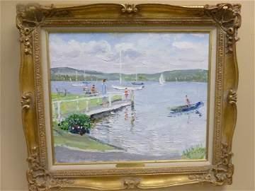 83: Webster Oil on Canvas