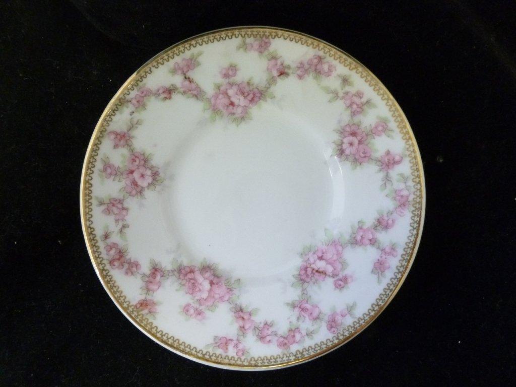Pink Rose Decorative Plate