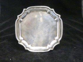 Antique Silver Tray