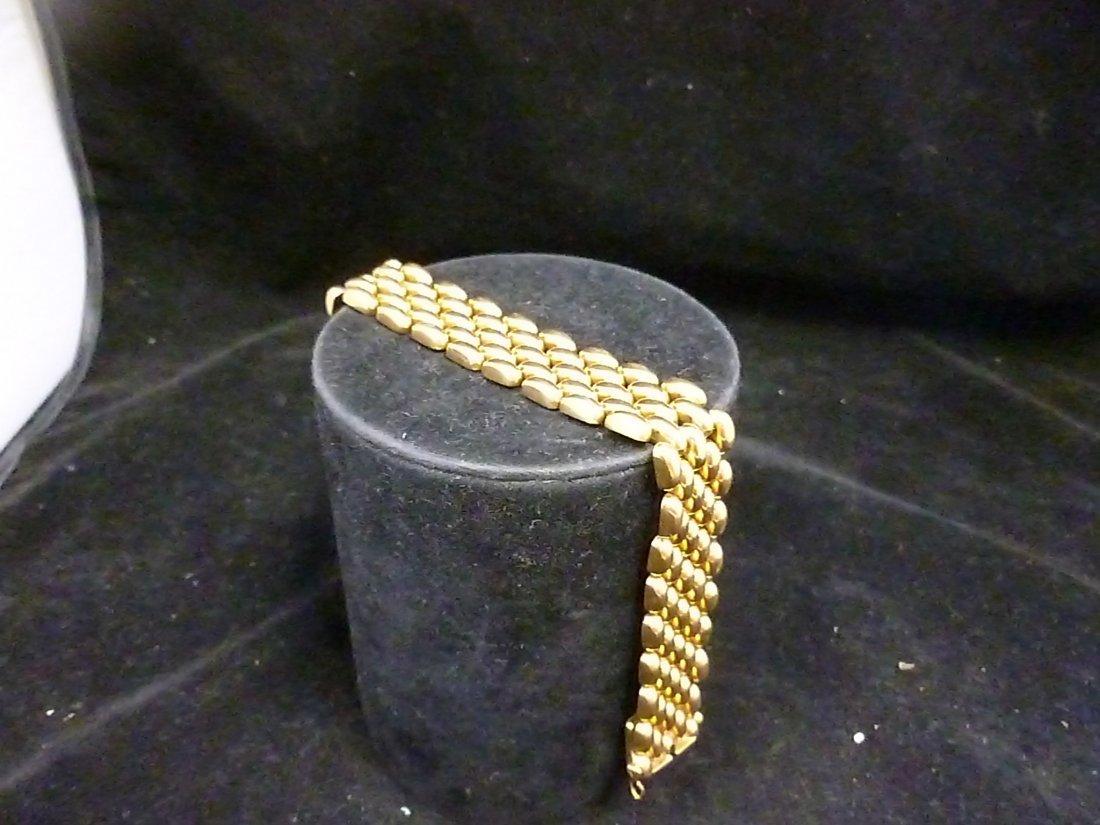 18K gold 4 link bracelet