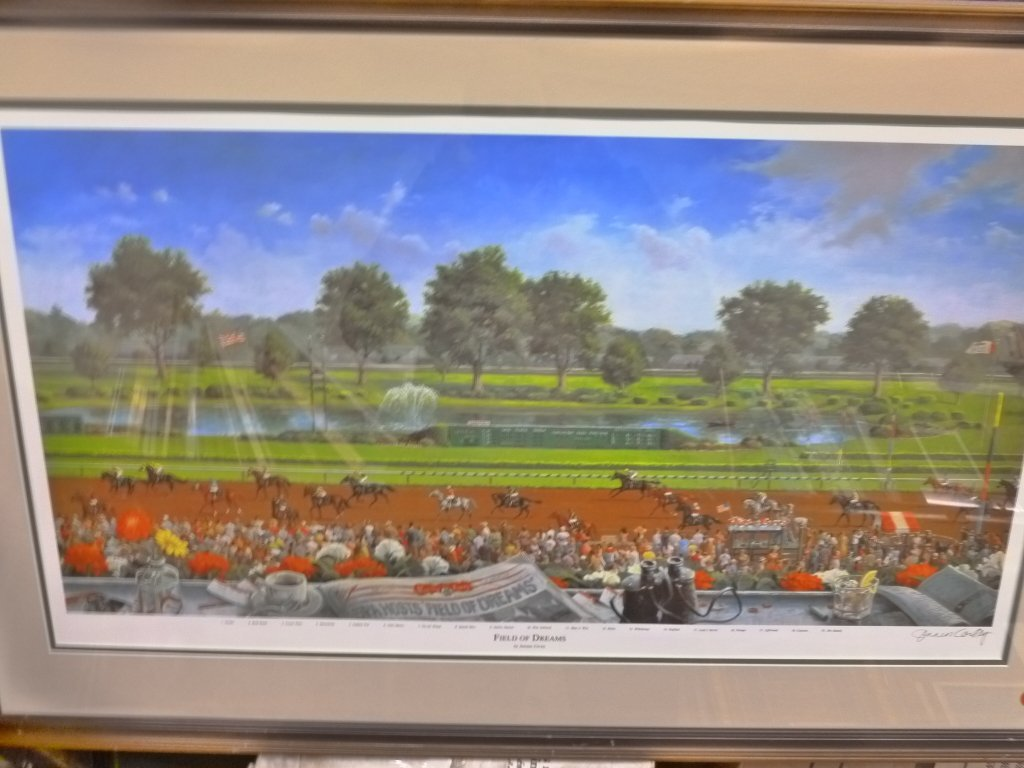 Original Jenness Cortez print of Field of Dreams