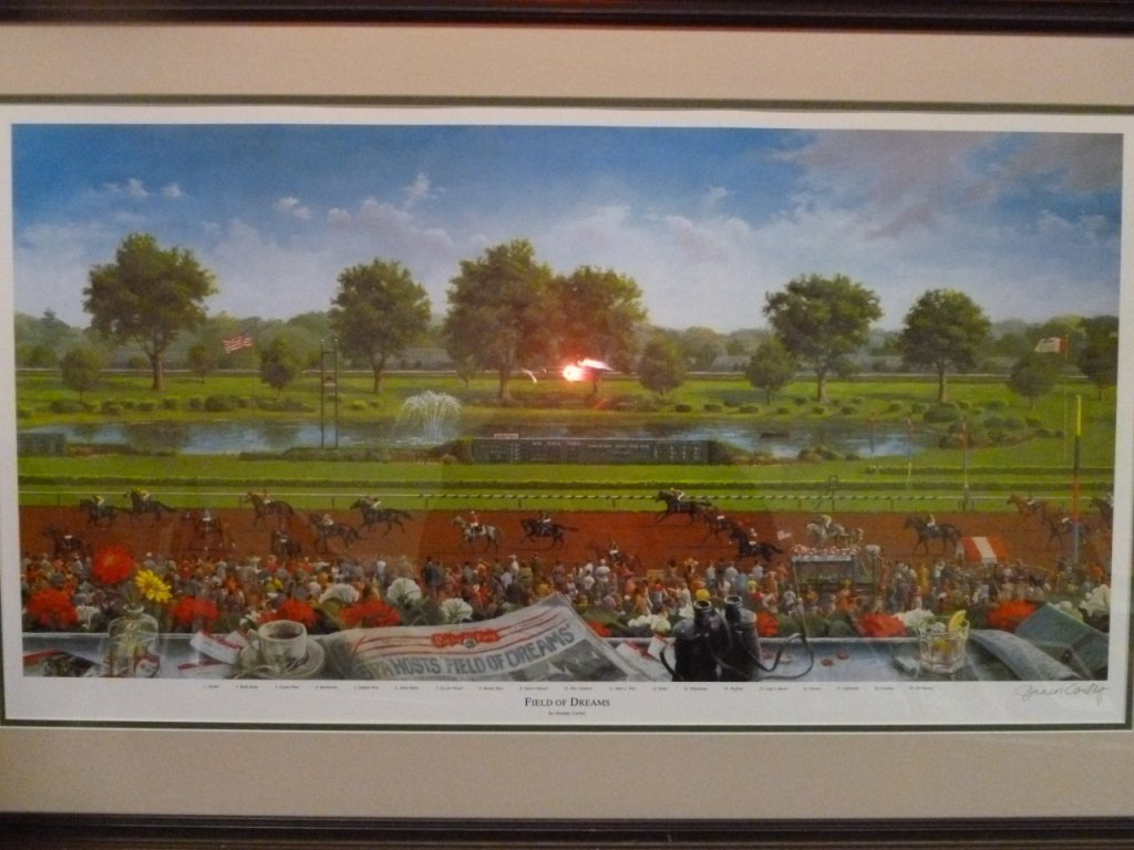 Original Jenness Cortez print of Field of Dreams - 6