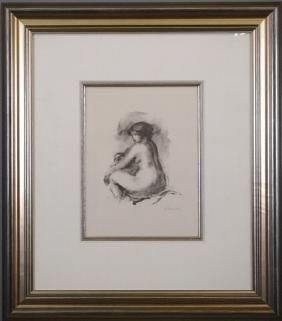 Pierre-Auguste Renoir litho